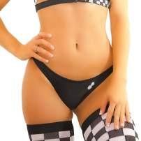 Womens EDM Rave Booty Shorts – Sexy Cheeky EDM Bikini Bottoms Festival Clothing