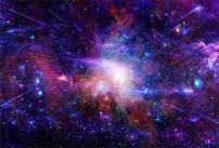 AOFOTO 10x7ft Nebula Starry Sky Backdrop Cosmic Galaxy Photography Background Universe Starlit Outer Space Science Fiction Photo Studio Props Video Drop Vinyl Wallpaper Kid Adult Artistic Portrait