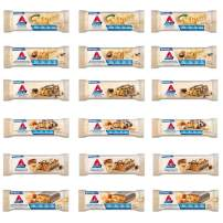 Atkins Snack Bar Variety Pack. Delicious Protein Bars that are Low Carb, Keto Friendly & a Great Source of Fiber (6 Flavors, 18 Bars).