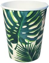 Talking Tables Fiesta Party Supplies | Fiesta Cocktail 9oz cups | Great For Jungle Themed Party, Luau Party, Hawaiian Party, Baby Shower And Birthday Decorations | Paper, 8 Pack