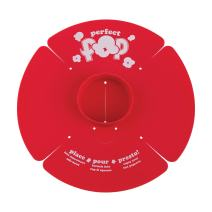 Progressive International PS-88 Prep Solutions Popcorn Maker, Small, Red