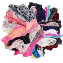 UWOCEKA Women Underwear,Varity of Panties 12 Pack Boyshort Hipster Briefs Assorted