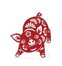 Advanced Graphics Chinese New Year - Year of The Pig Life Size Cardboard Cutout Standup