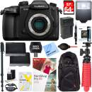 Panasonic LUMIX GH5 20.3MP Digital Camera (Body Only) with Dual Battery + Accessory Bundle (Starter Bundle)