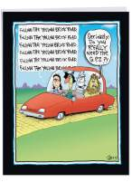 NobleWorks - Jumbo Funny Card for Fathers Day (8.5 x 11 Inch) - Humor Notecard, Gift Dad, Stepdad, Grandpa - Oz GPS J7004