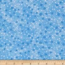 A.E. Nathan Flannel Stars, Yard, Blue