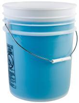 Hudson Exchange Premium 5 Gallon Bucket, HDPE, Natural, 12 Pack