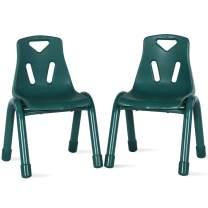 Bertini Kids Bunny Stacking Activity, Green (2-Pack) Chair