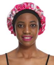 Soft Satin Bonnet Sleeping Cap Salon Hat for Natural hair