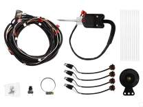SuperATV Turn Signal Kit for Polaris RZR 570 (2011+) - (with Steering Column and Dash Horn) - Plug and Play for Easy Installation!