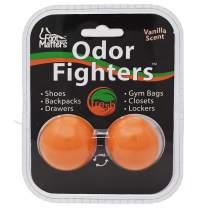 FOOTMATTERS Odor Fighters - Shoe Deodorizer Balls - Adjustable Vanilla Scent