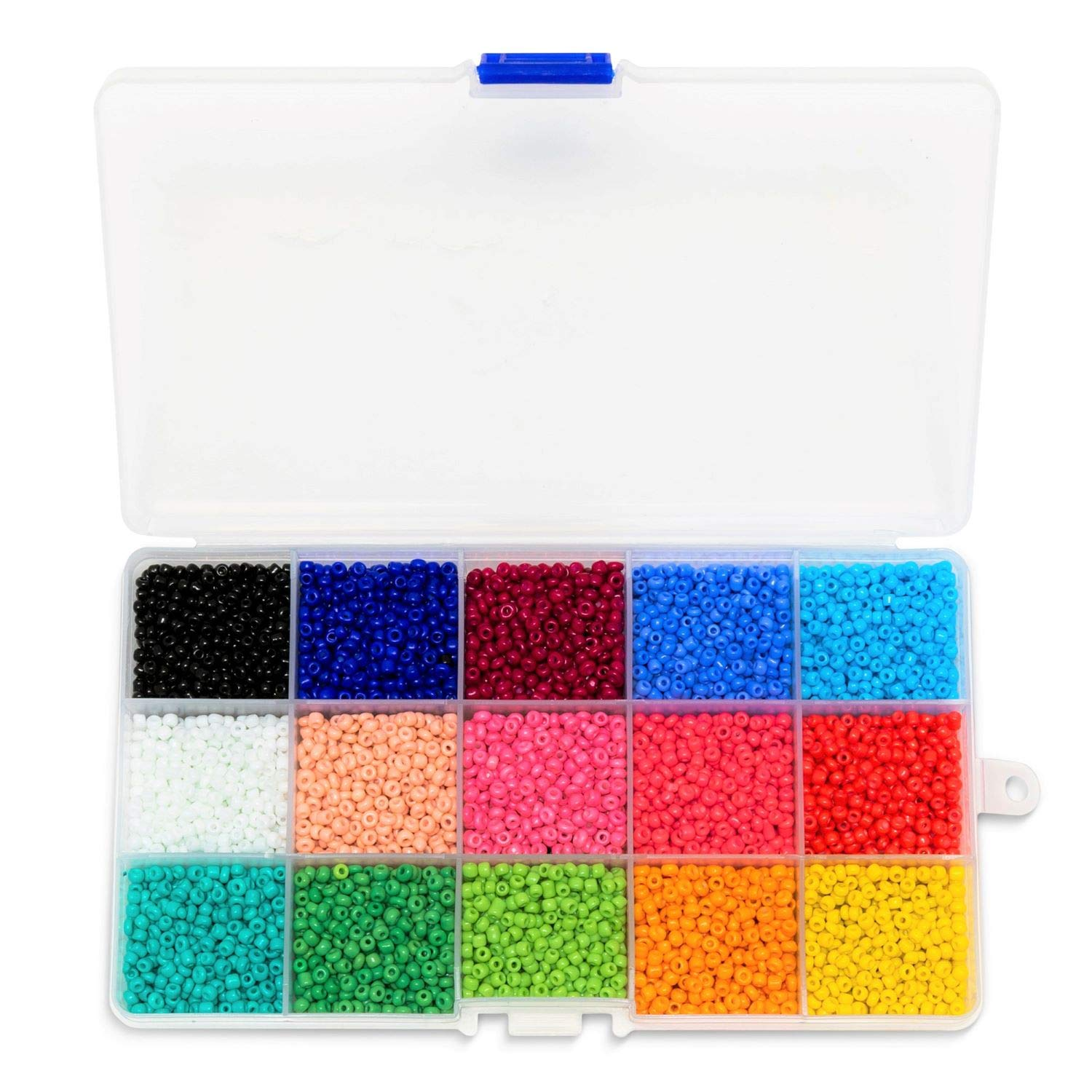 Seed Bead Kit for Girls Feb.7 Jewelry Kits for Adults 7500 Colorful Bracelets Making Kits Rainbow Beads for Making Jewelry and Box Kit