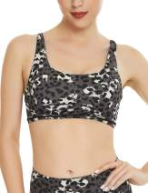 QUEENIEKE Womens Yoga Sport Bra Light Support Strappy Free to Be Bra 77889