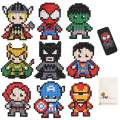 5D Diamond Painting Kits for Kids, OWAY Superhero Diamond Painting Stickers Paint with Diamonds DIY Mosaic Sticker Art for Children and Adults