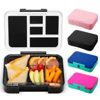 Simple Modern Porter Bento Lunch Box for Kids - Leakproof Divided Container with 5 compartments for Toddlers, Men, and Women Color Blocked: Tuxedo