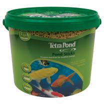 TetraPond Pond Sticks Pond Fish Food for Goldfish and Koi, Healthy Nutrition Clear Water Pond Food