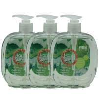 Natural Solution Wbm Llc Wbm Care Natural Liquid Hand Soap With Lemon & Green Tea, Cleanse & Moisturize Your Hands - 16.9 Oz Each | 3 Pack, 10.6 Oz