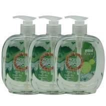 Natural Solution Wbm Llc Wbm Care Natural Liquid Hand Soap With Lemon & Green Tea, Cleanse & Moisturize Your Hands - 16.9 Oz Each | 3 Pack, 10.6 Oz