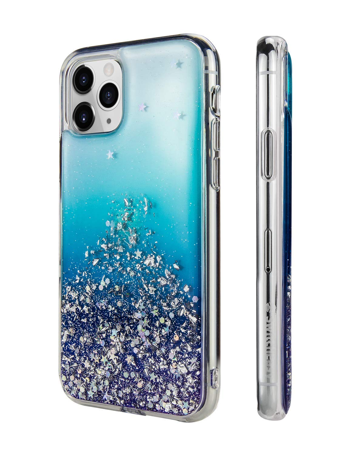 """SWITCHEASY iPhone 11 Pro Max Clear Case - Starfield Luxury Fashion Glitter Hard Case Transparent Clear Shiny Bling Sparkling Protective Cover for Women (Crystal, 2019 iPhone 6.5"""")"""