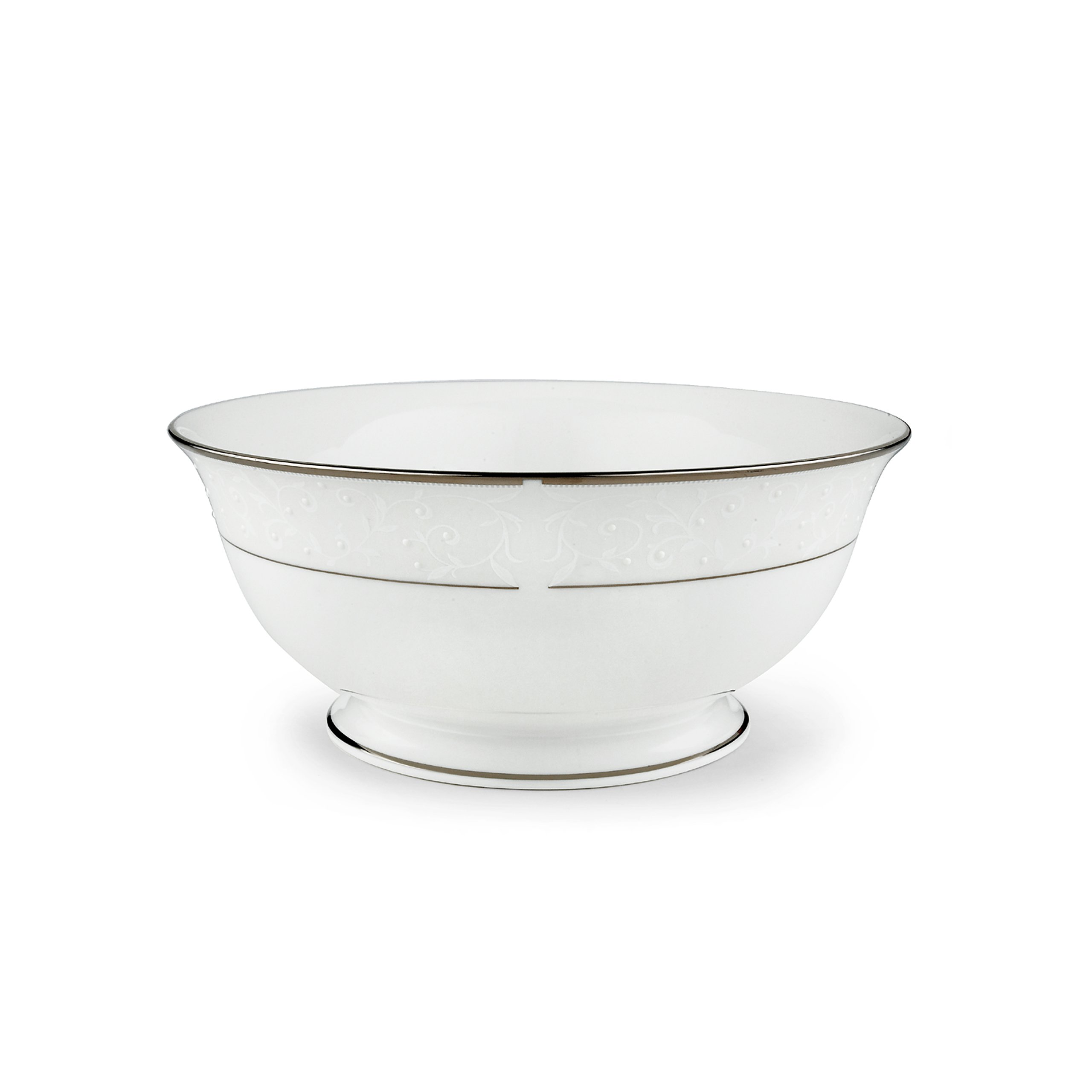 Lenox 6252423 Opal Innocence Large Serving Bowl, White
