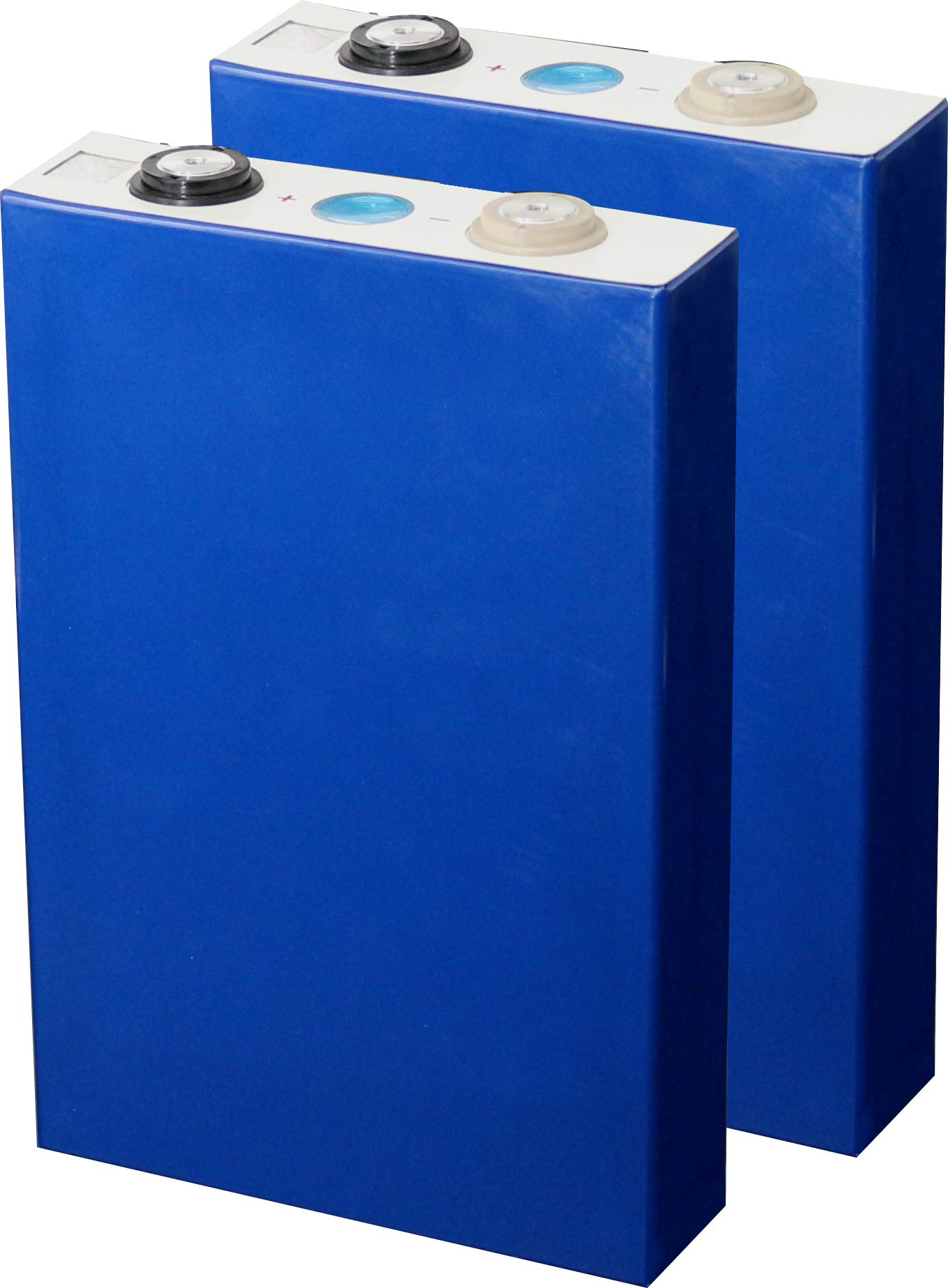 2x Cells Eastup Lithium Iron Phosphate (LiFePo4) Battery Cells 3.2V-50AH 160Wh 10 Years Lifetime.