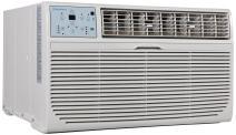 Keystone KSTAT10-2C 10000 BTU 230V Follow Me LCD Remote Control Through-The-Wall Air Conditioner, 10,000