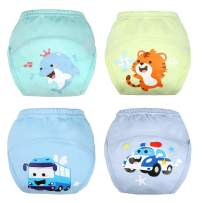 Training Pants Toddler Potty Training Underwear for Boys and Girls, Cotton, Washable and Reusable-12M-5T…
