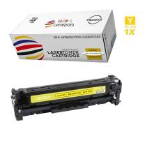 Global Cartridges Compatible Toner Cartridge Replacement for HP 128A / Yellow CE322A