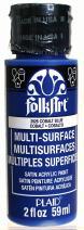 FolkArt Multi-Surface Paint in Assorted Colors (2 oz), 2926, Cobalt Blue