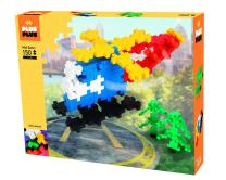 PLUS PLUS BIG - Open Play Set - 150 Piece - Basic Color Mix, Construction Building Stem Toy, Interlocking Large Puzzle Blocks for Toddlers and Preschool, (Model: 03216)