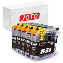 JOTO Compatible Ink Cartridge Replacement for Brother LC203 XL LC203XL LC201 MFC-J480DW MFC-J885DW MFC-J485DW MFC-J880DW MFC-J5620DW MFC-j460DW MFC-J4420DW (Black, 5 Pack, High Yield)
