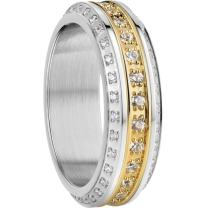 Bering Women's Ring Combination -Florence. Interchangeable Mix & Match Rings from The Arctic Symphony Collection. Designed in Denmark.