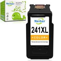 Neiber Remanufactured Ink Cartridge Replacement for Canon CL-241XL 241 XL ( Color 1-Pack ) Work with Pixma MG3600 MG3222 MG3220 MG3620 MX432 MX522 MG3122 TS5120 MG2120 MX452 MG2220 MG3120 Printer