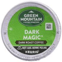 Keurig Top Four Selling K Cups 96 Count (Green Mountain Coffee Dark Magic)