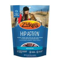 Zuke's Hip Action Hip & Joint Natural Dog Treats Crafted in The USA