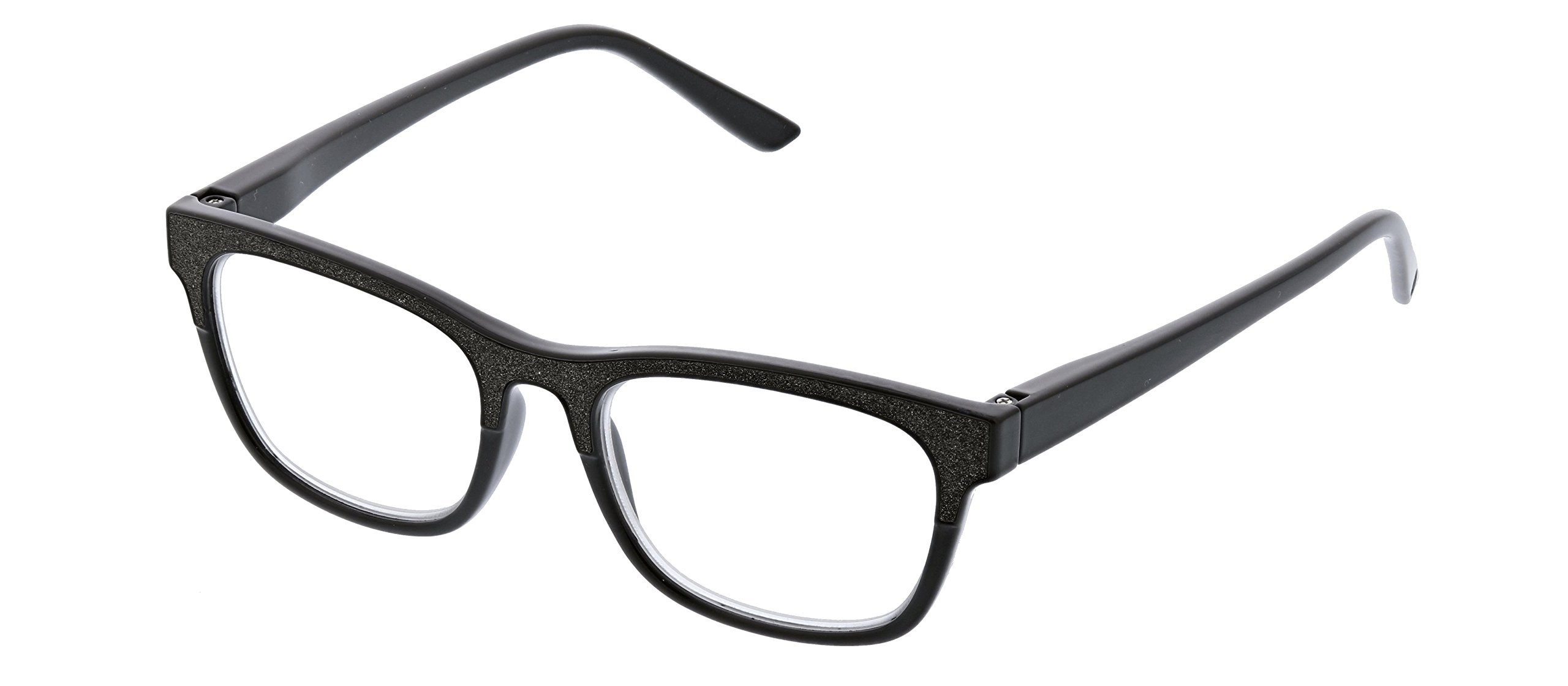 Peepers by PeeperSpecs Women's Foxy Mama Focus Square Blue Light Filtering Reading Glasses