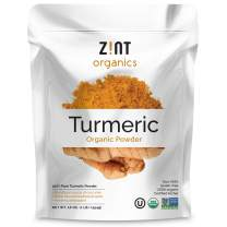 Zint Organic Turmeric Root Powder (16 oz): Raw Natural Whole-Food Holistic Curcumin Supplement Spice