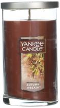 Yankee Candle Medium Perfect Pillar Candle, Autumn Wreath