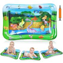 Nice2you Tummy Time Water Play Mat, Baby Toys for 3 6 9 Months, Tummy Time Toy for Infant Early Development Activity Centers| BPA Free Splashing Water Play Mat