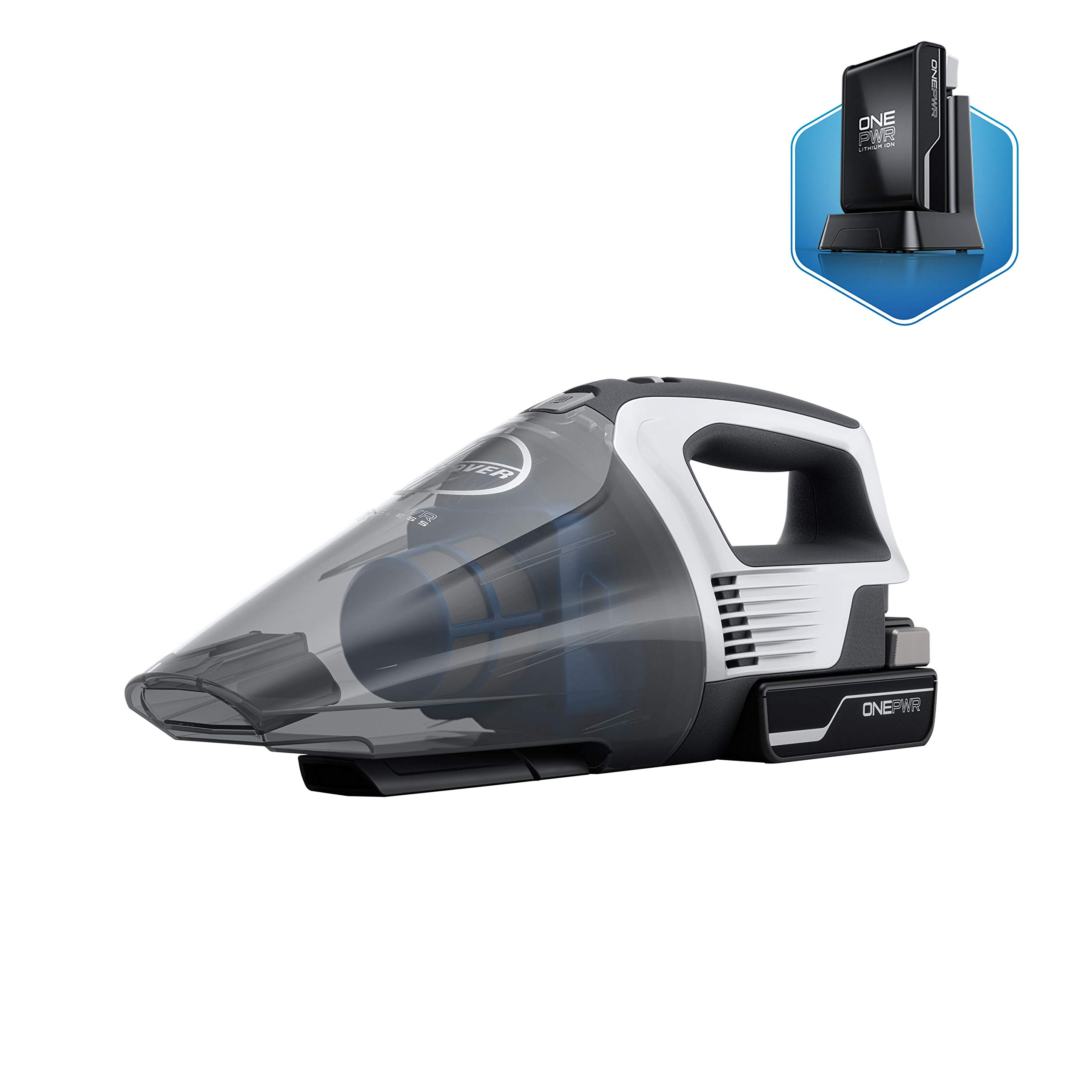 Hoover ONEPWR Cordless Hand Held Vacuum Cleaner, Battery Powered, Lightweight, BH57005, White