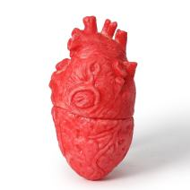 ONEDONE Fake Bloody Heart Body Organ Parts Halloween Horror Props Haunted House Party Decor
