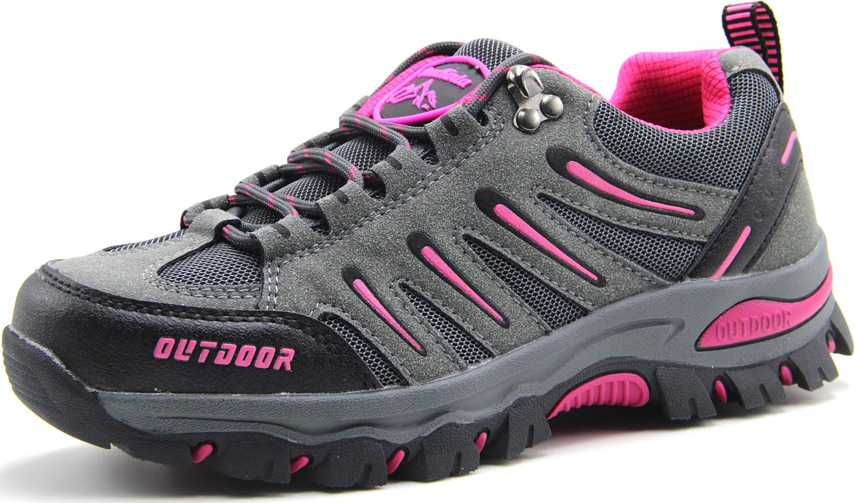 BomKinta Women's Anti-Slip Lightweight Breathable Hiking Shoes Quick-Dry Trekking Shoes for Women