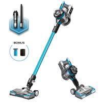 Eureka NEC222 HyperClean Cordless Vacuum Cleaner, Super for All Carpet and Hardwood Floor, Stick and Handheld with Powerful Digital Motor