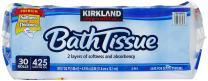 Kirkland Signature Bath Tissue, 2-Ply - 425-30 ct