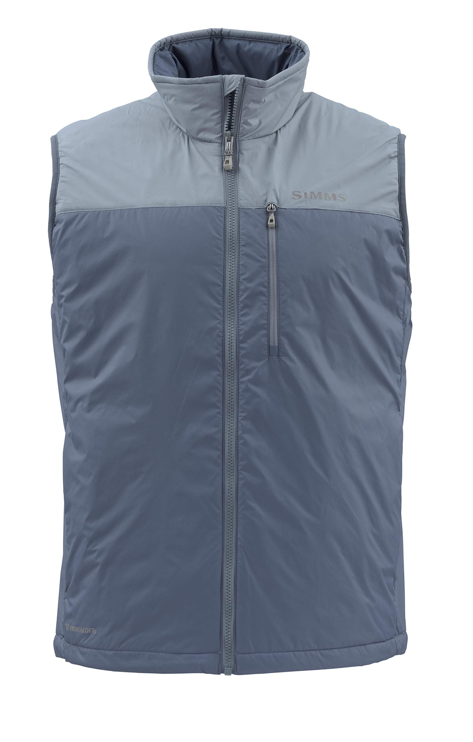 Simms Men's Midstream Insulated Puffy Vest, Sleeveless Jacket