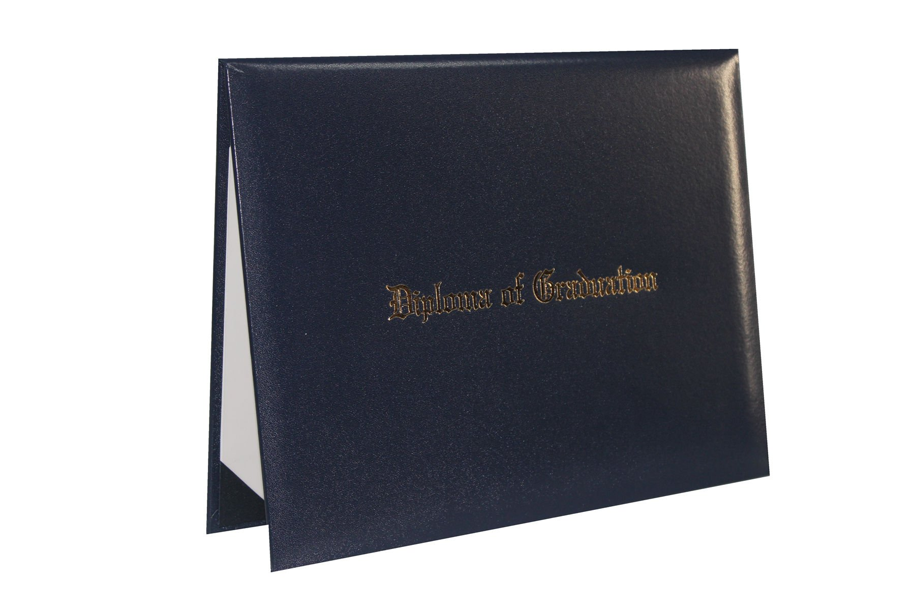 """GraduationForYou Smooth Imprinted""""Diploma of Graduation"""" Certificate Cover 8 1/2"""" x 11"""""""