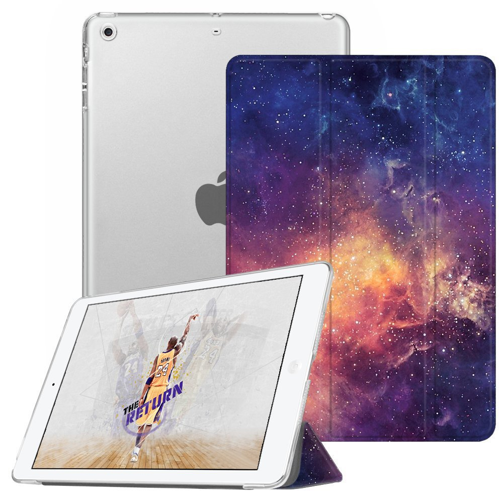 Fintie Case for iPad Mini 3/2 / 1 - Lightweight Smart Slim Shell Translucent Frosted Back Cover Protector Supports Auto Wake/Sleep for Apple iPad Mini 1 / Mini 2 / Mini 3, Galaxy