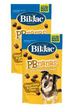 Bil-Jac PB Nanas Dog Treats - Peanut Butter and Banana Flavor - 4 oz Bags