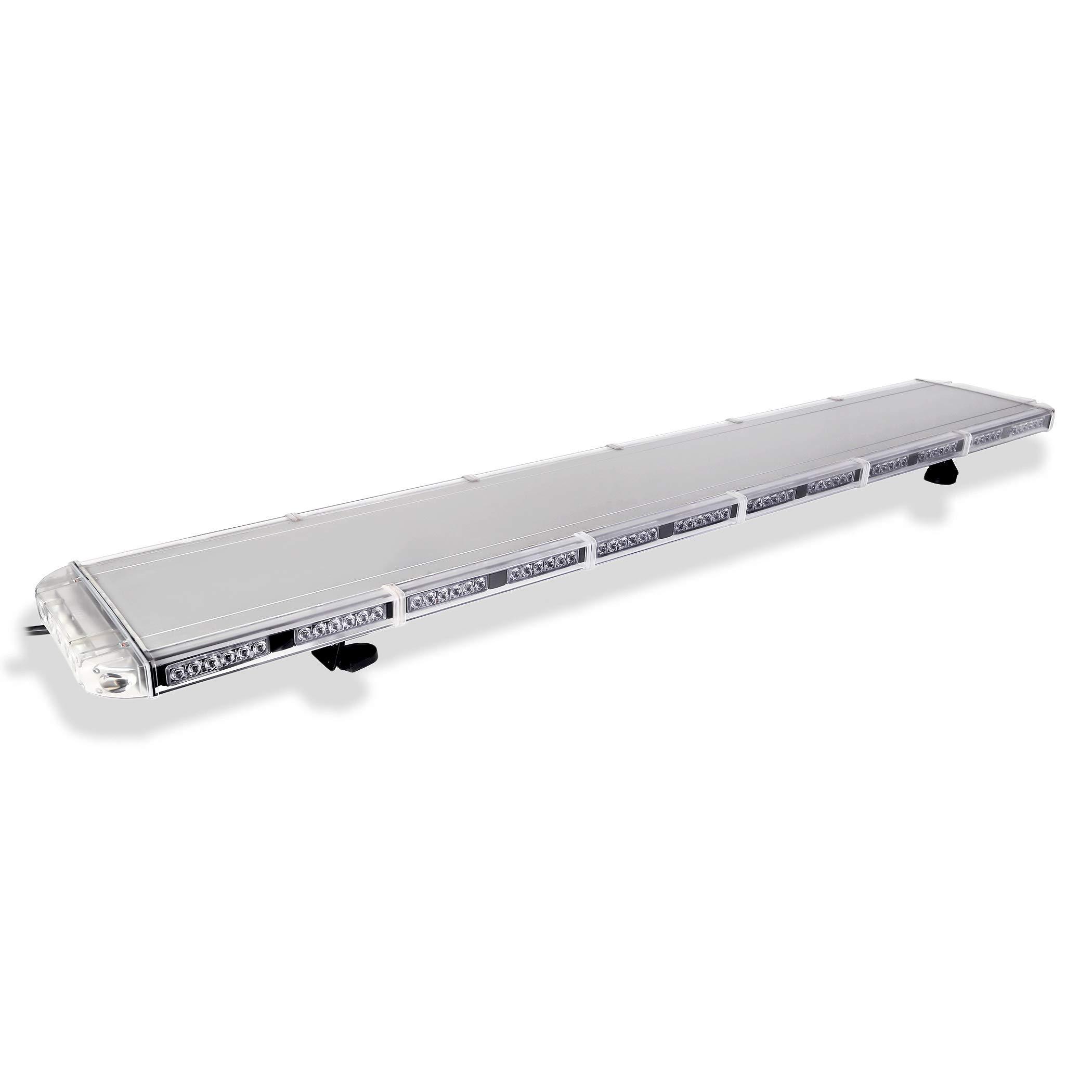 Aviator Emergency 3 watt TIR LED Light Bar 63 in Tow Truck light bar STOP & TURN FUNCTION (Red)
