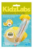 4M Kidzlabs Lemon Powered Clock, Chemical Electrical Science Lab Experiment - STEM Toys Educational Gift for Kids & Teens, Girls & Boys
